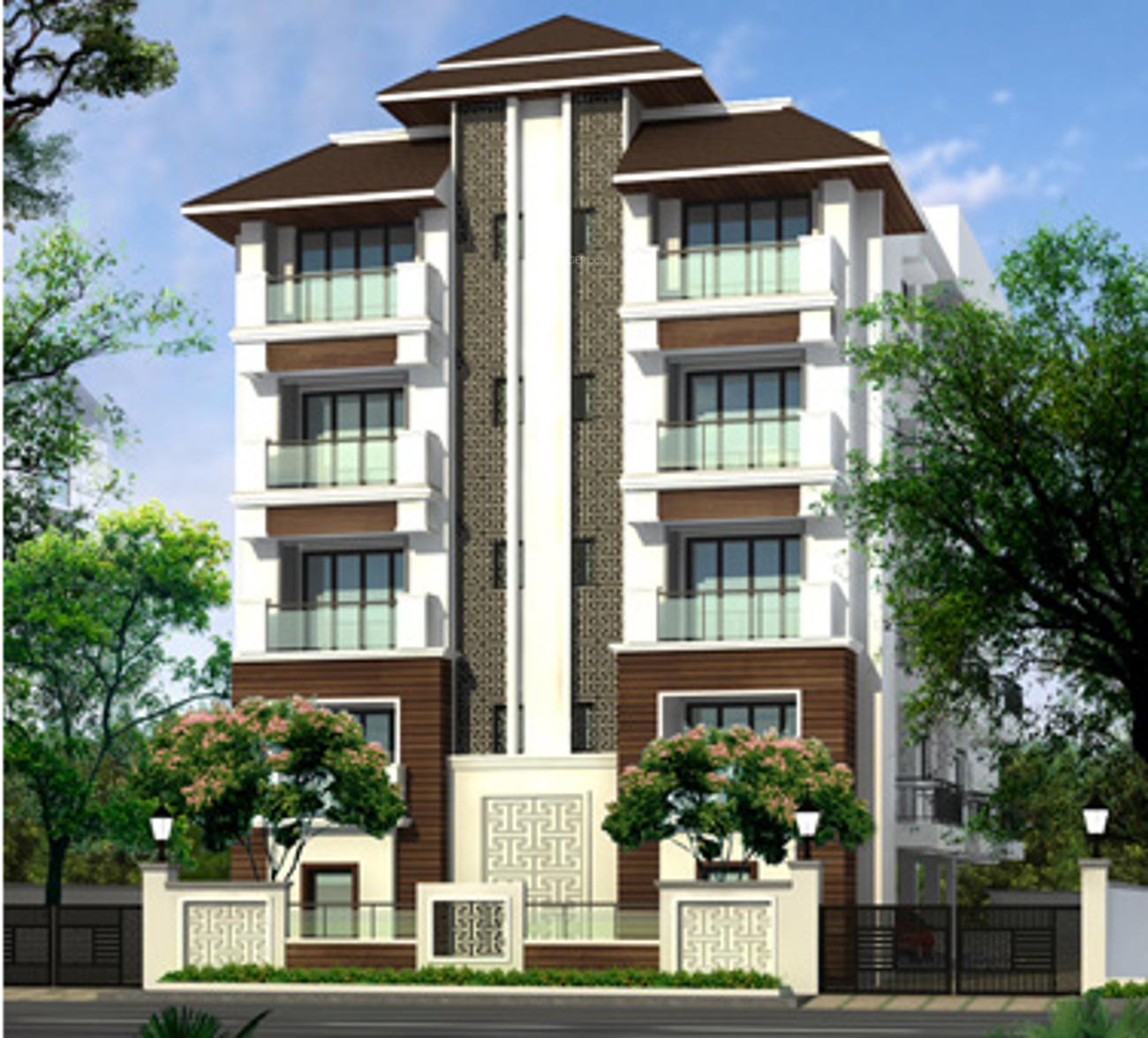 3 Floor Apartment Elevation : Sq ft bhk t apartment for sale in sumanth sreshta