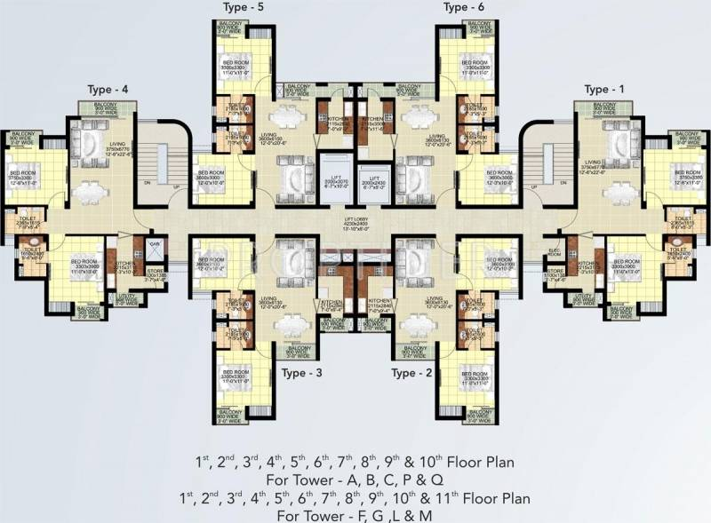 Images for Cluster Plan of Ansal Paradise Crystal