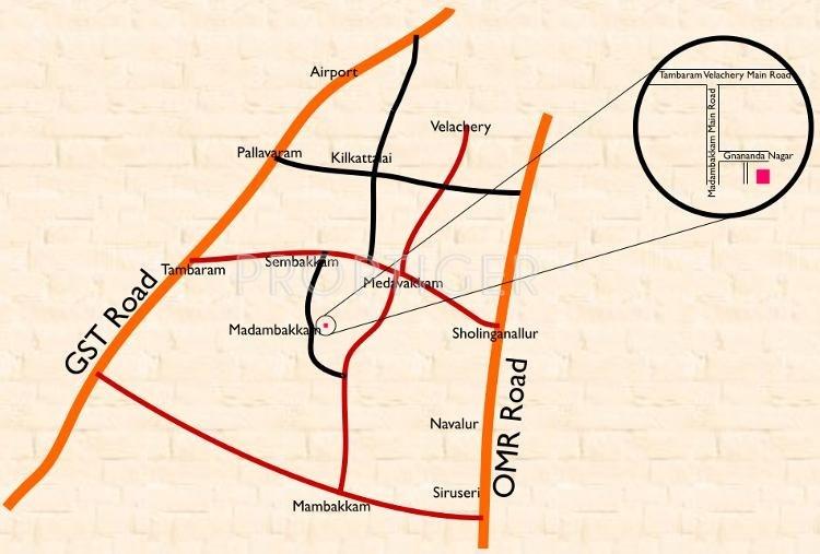 Images for Location Plan of Athreya Shringa