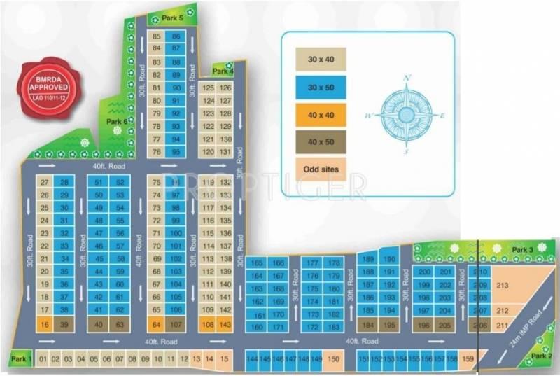 Images for Layout Plan of NAG Grandville