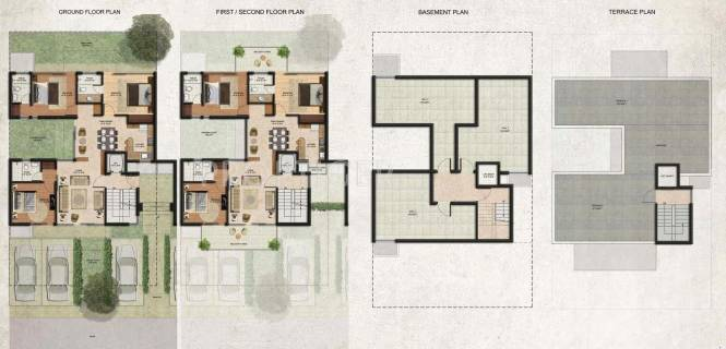 Images for Cluster Plan of BPTP Amstoria Country Floor