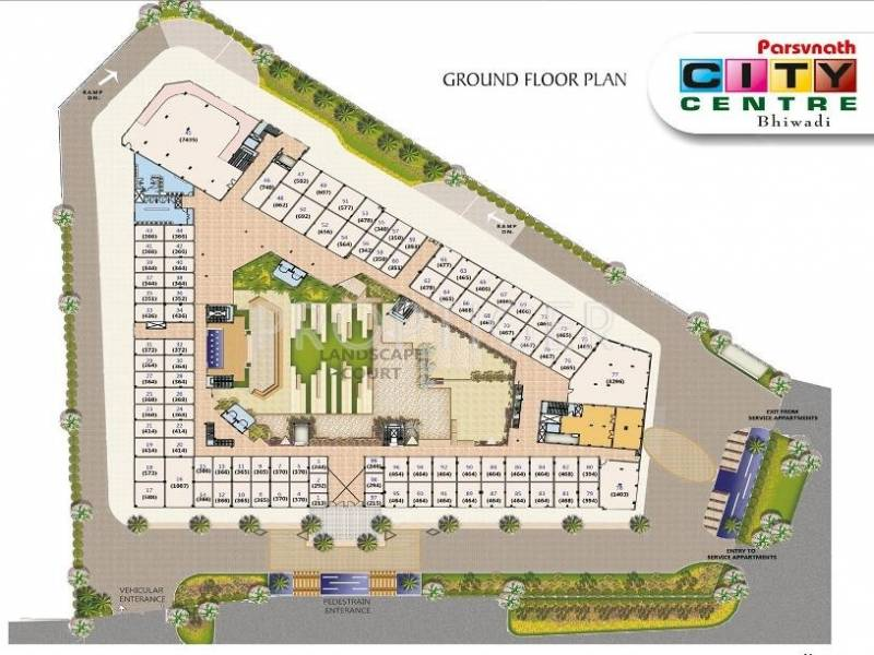Images for Cluster Plan of Parsvnath City Centre