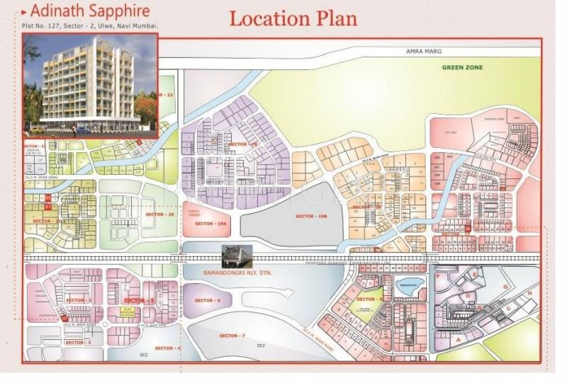 Images for Location Plan of Adinath Sapphire