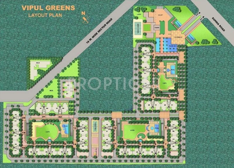 Images for Layout Plan of Vipul Greens