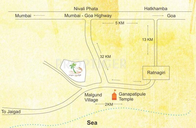Images for Location Plan of Chaitanya Sea Vista