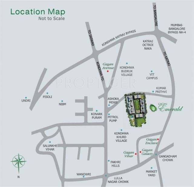 Images for Location Plan of Gagan Emerald
