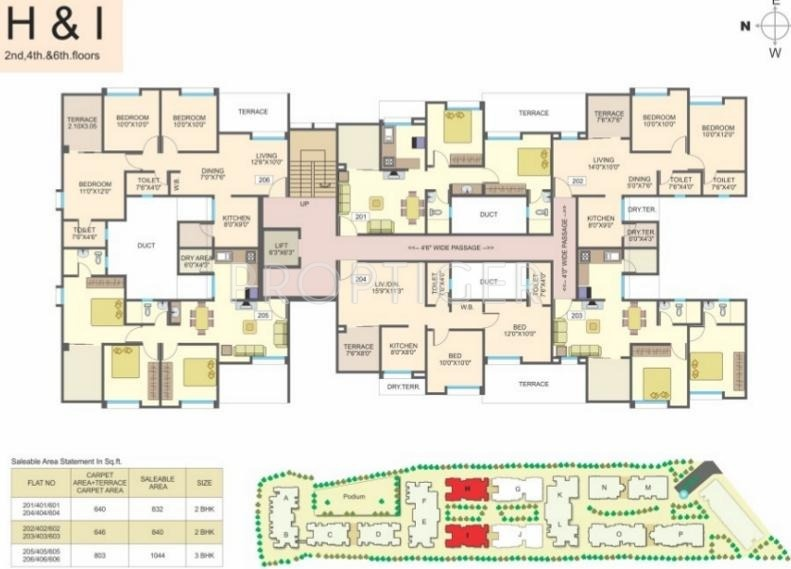 aishwaryam-courtyard Images for Cluster Plan of Essen Aishwaryam Courtyard