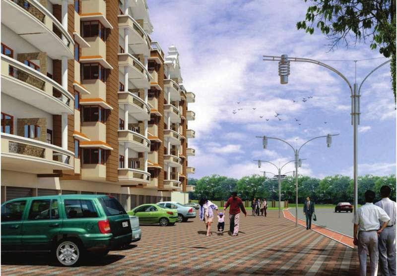 Images for Elevation of Paras Lifestyles Gulab Vatika Apartment
