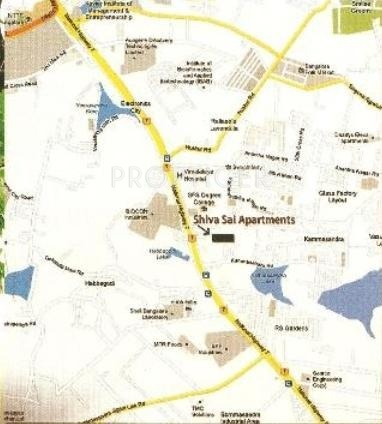 Images for Location Plan of Accent Shiva Sai Apartment
