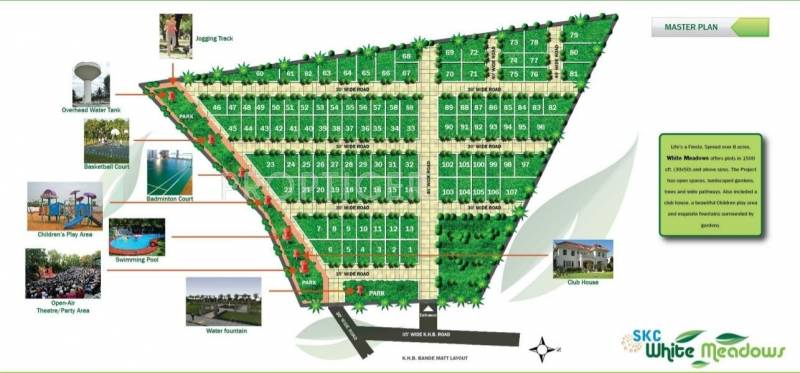 Images for Layout Plan of Sri Krishna Constructions India White Meadows