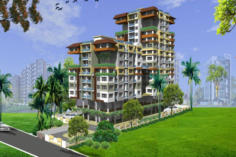 Images for Elevation of Shree Vishnu Crossing Greens The Residences