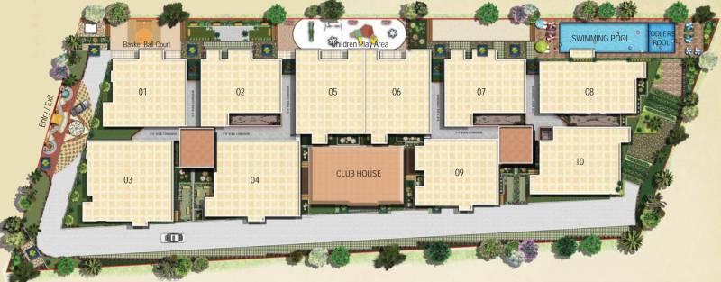 Images for Site Plan of Pranathi Serene Nest