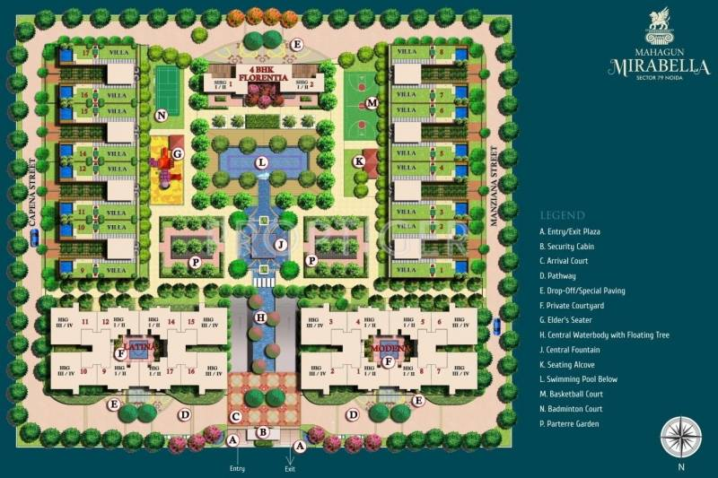 Images for Site Plan of Mahagun Mirabella