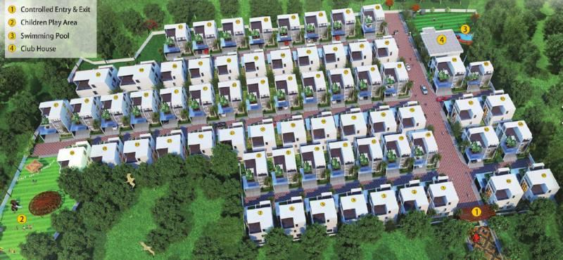 Images for Layout Plan of Gardenia Gardenia Florence Villas