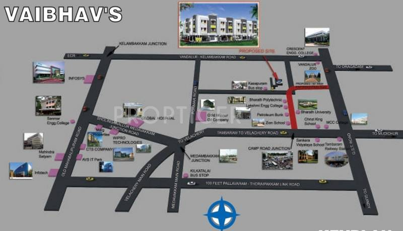 Images for Location Plan of StepsStone Vaibhavs