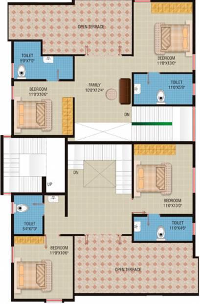 Images for Cluster Plan of Sagar Ventures Regency