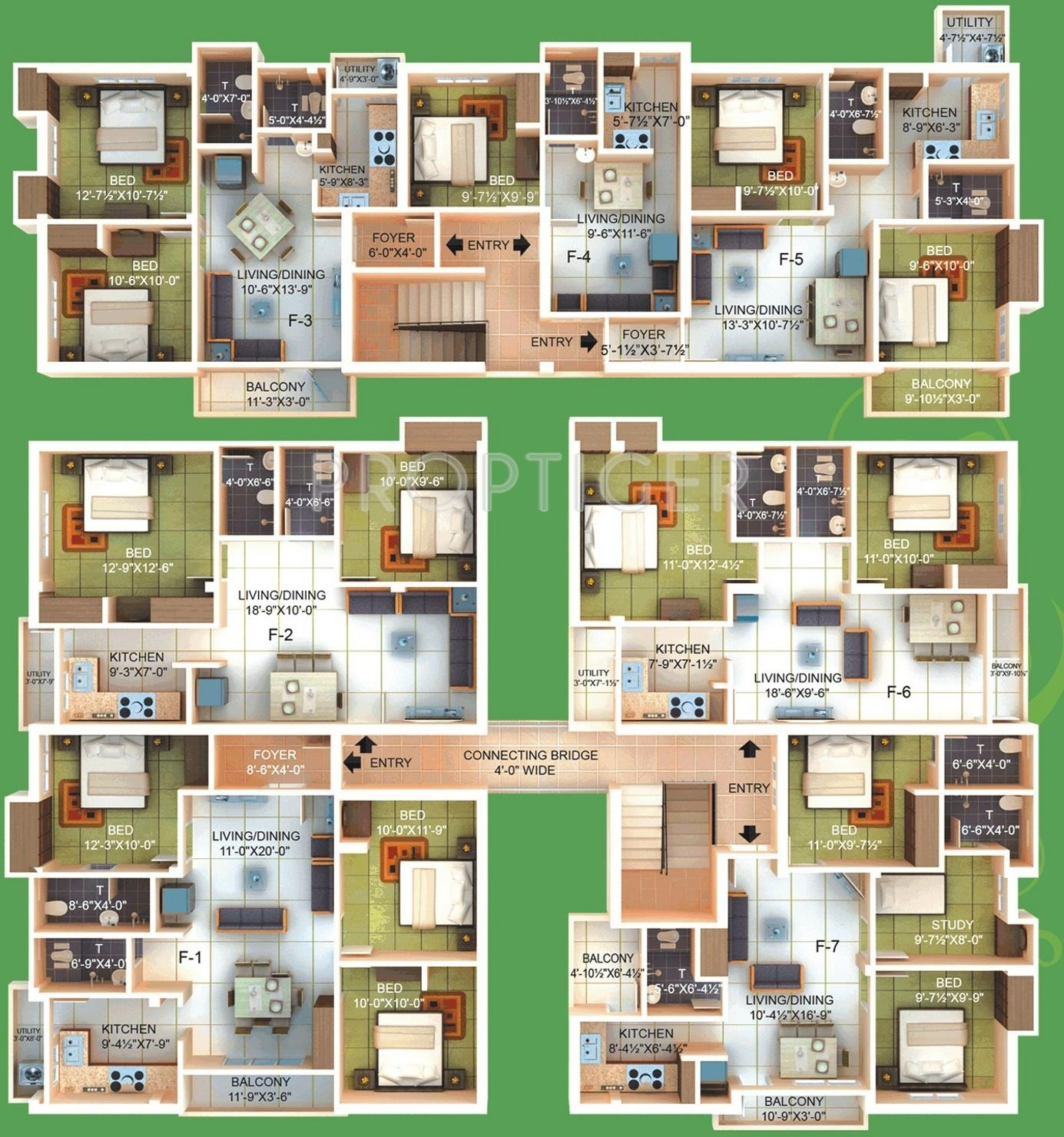 1010 Sq Ft 2 Bhk 2t Apartment For Sale In A P Ap Athulya