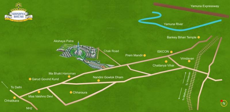Images for Location Plan of Infinity Krishna Bhumi