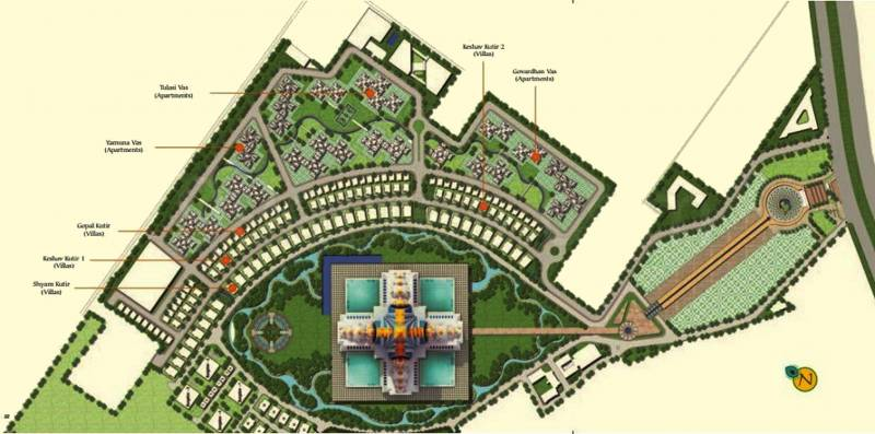 Images for Master Plan of Infinity Krishna Bhumi