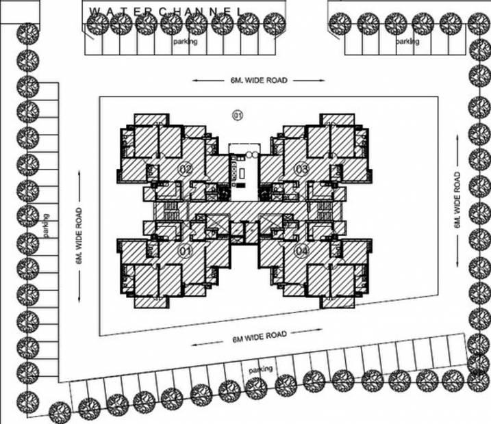 vedanta Images for Cluster Plan of KLJ Vedanta