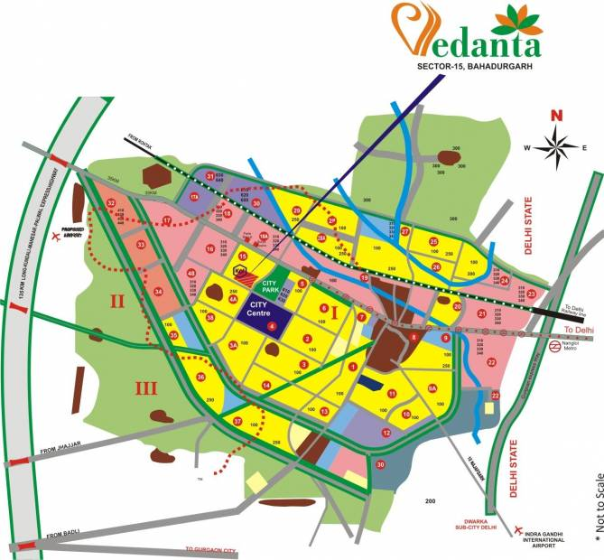 vedanta Images for Location Plan of KLJ Vedanta