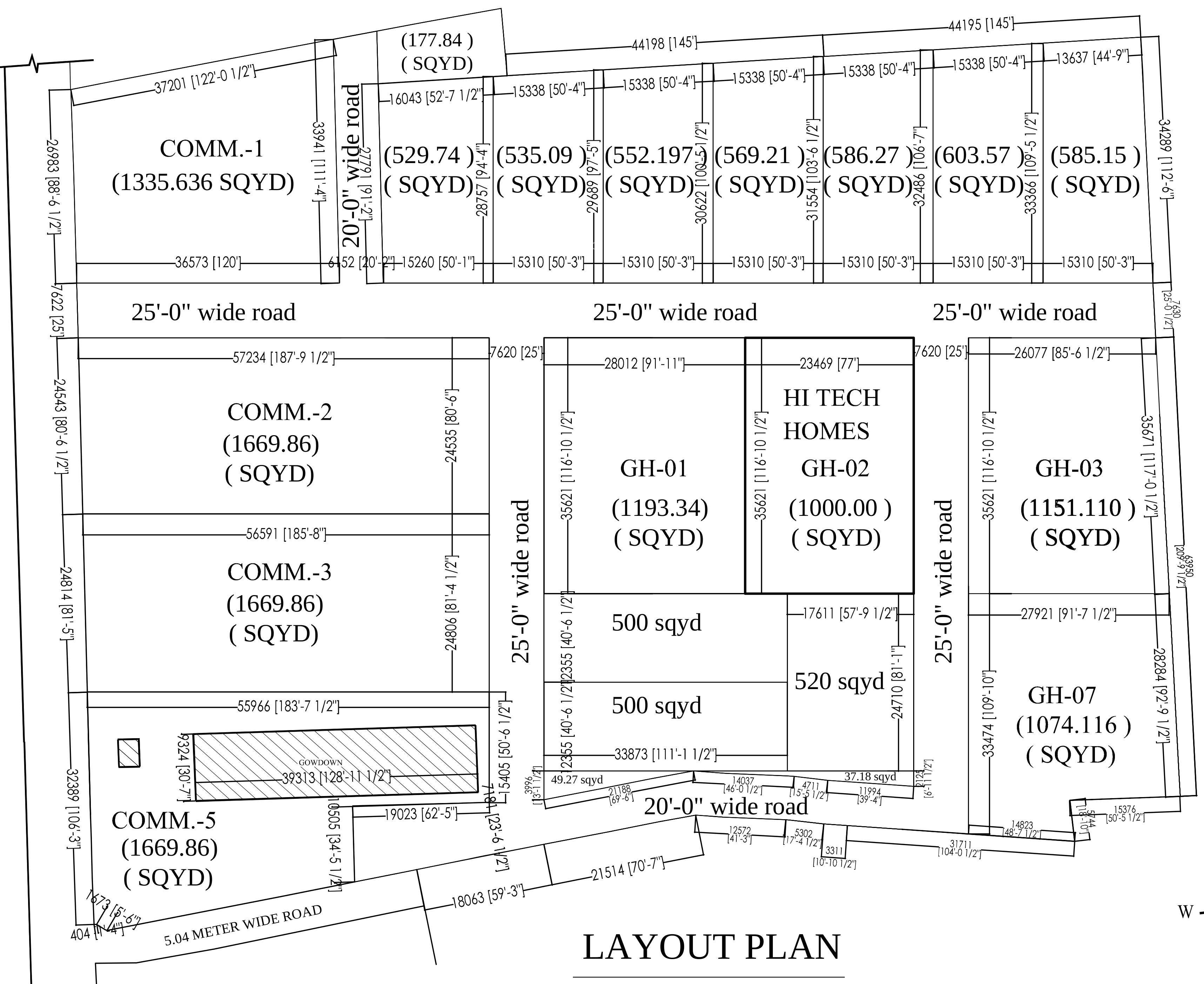 Builders Hi Tech Homes in Sector 104, Noida - Price, Location Map ...