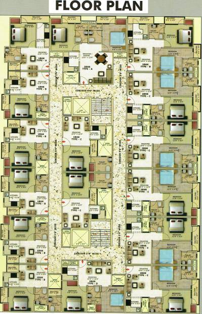 Images for Cluster Plan of Builders Hi Tech Homes