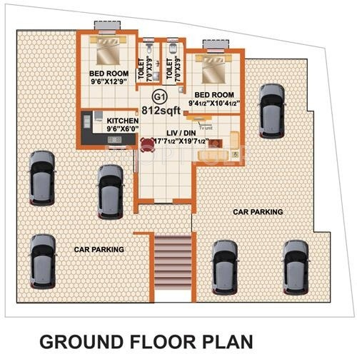 Images for Cluster Plan of RB Foundations Bagyalakshmi Enclave