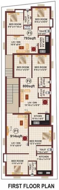 Images for Cluster Plan of RB Bagyalakshmi Enclave