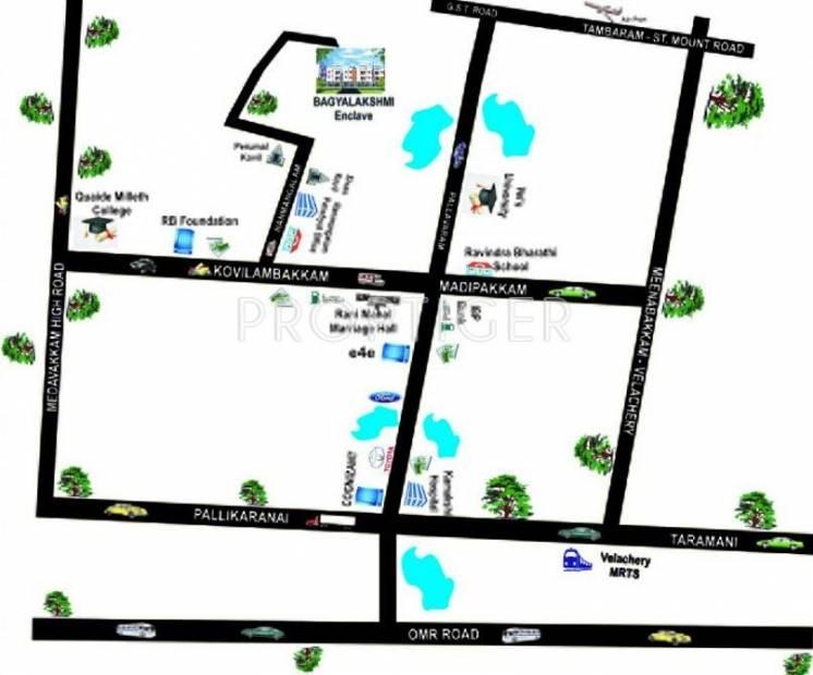 Images for Location Plan of RB Foundations Bagyalakshmi Enclave