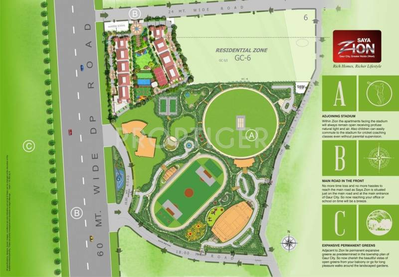 Images for Site Plan of Saya Zion
