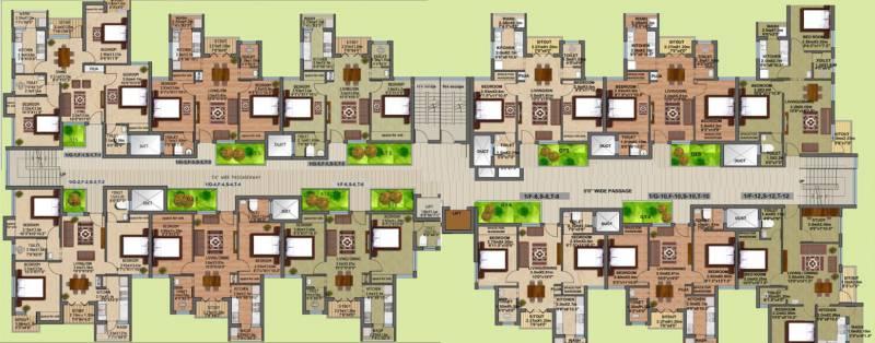 Images for Cluster Plan of Alpha Kamban Estate Phase I