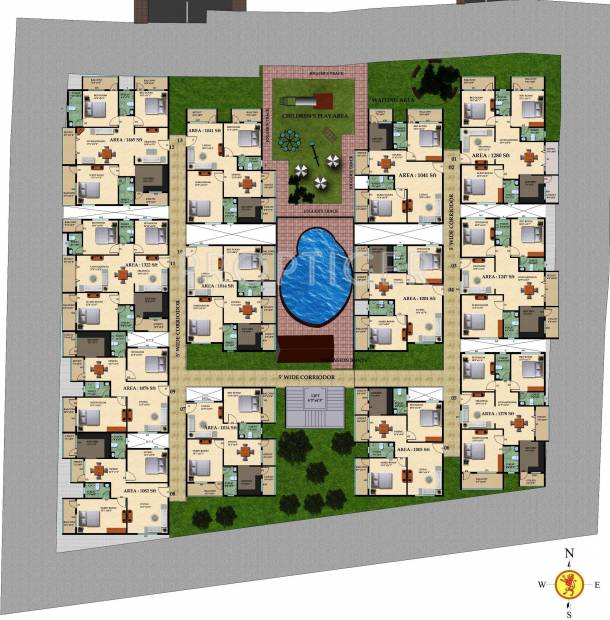 oberon Images for Layout Plan of Mahaveer Oberon