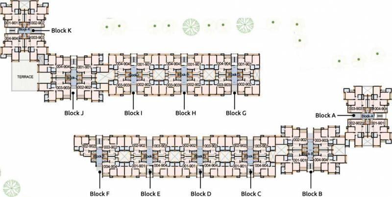Images for Layout Plan of Arvind Skylands
