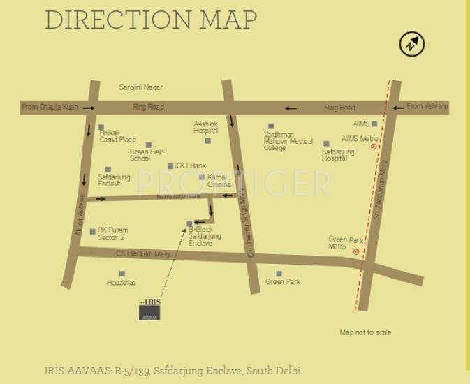Images for Location Plan of Trehan Iris Aavaas