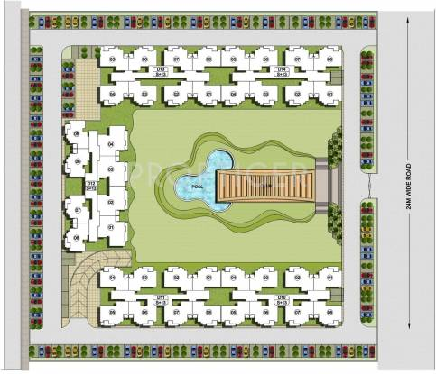 platinum-heights Images for Layout Plan of KLJ Platinum Heights