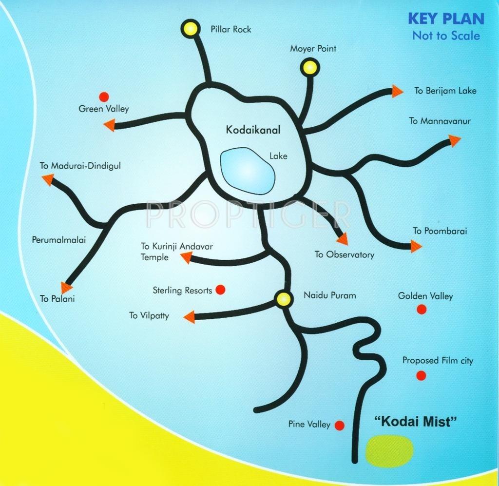 Plantation Floor Plan Senthil Kodai Mist In Kodaikanal Dindigul Price