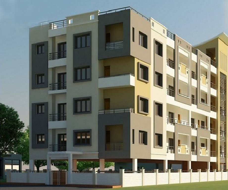 Apartment Realtors: 950 Sq Ft 3 BHK 2T Apartment For Sale In ML Realtors Biman