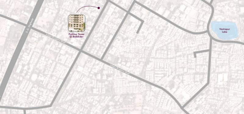 Images for Location Plan of Sheladia Pushkar Apartments