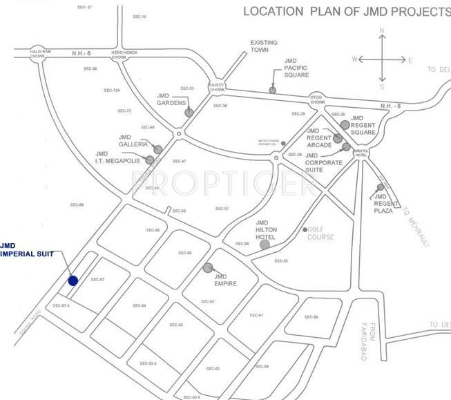 Jmd Imperial Suites In Sector 67 Gurgaon