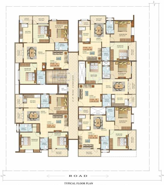Images for Cluster Plan of Chalukya Residency