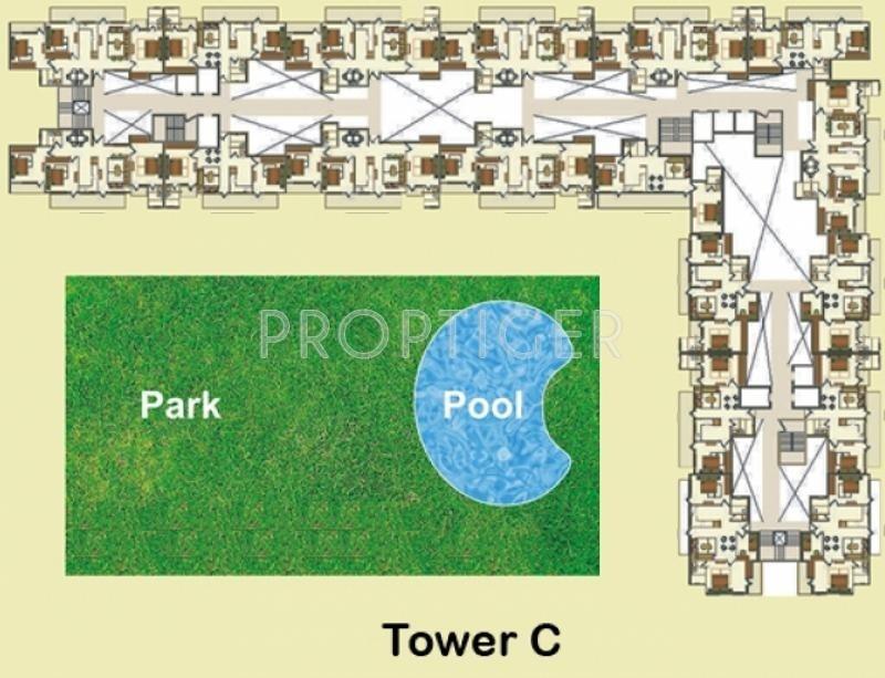 gateway Tower A1 Cluster Plan