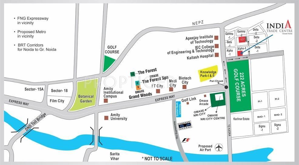 Omaxe India Trade Centre in Alpha 2, Greater Noida - Price