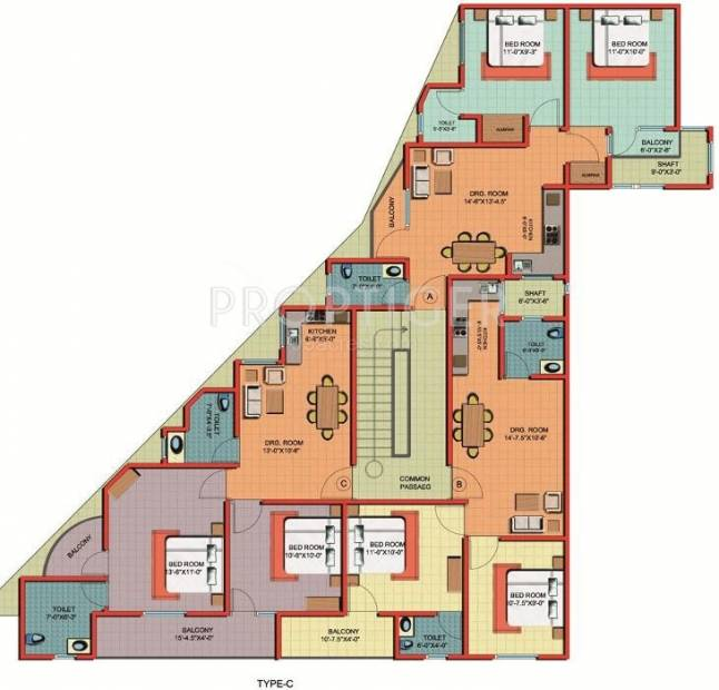 Images for Cluster Plan of Ashi Comfort Residency