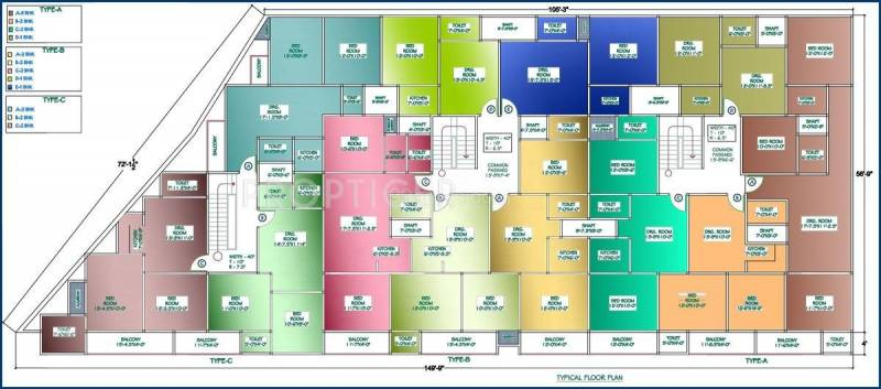 Images for Master Plan of Ashi Comfort Residency