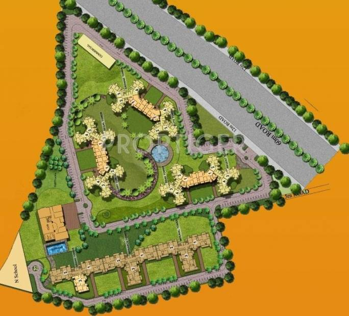 Images for Layout Plan of Mapsko Royale Ville