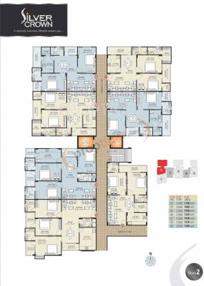 Images for Cluster Plan of Vardhman Silver Crown
