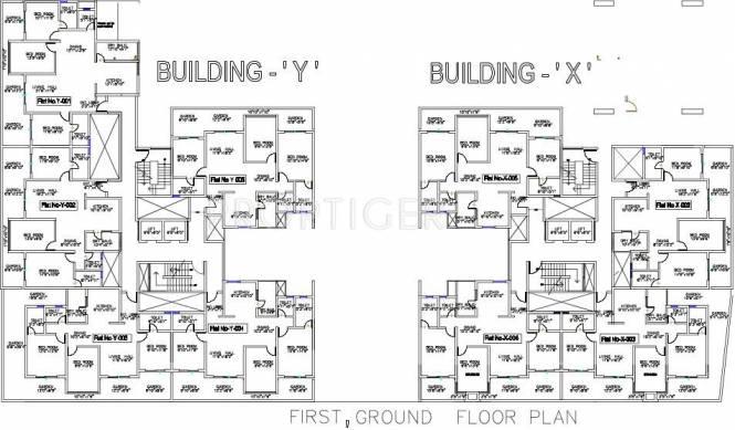 mithila Building G Cluster Plan