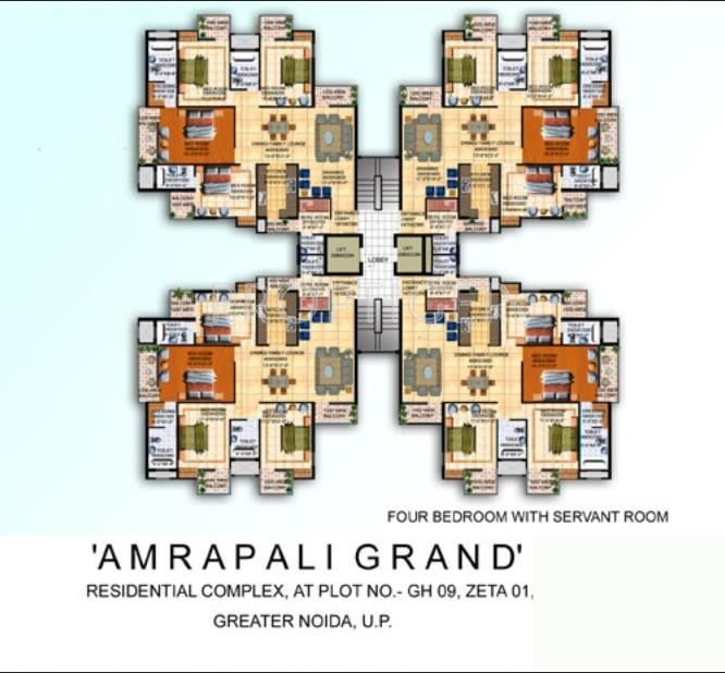 Images for Cluster Plan of Amrapali Grand