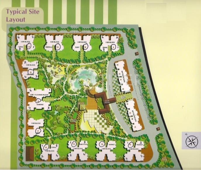 Images for Layout Plan of Amrapali Grand